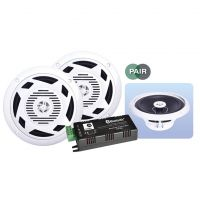 eAudio Bluetooth 4.0 Ceiling Speaker Kit 2x 30W