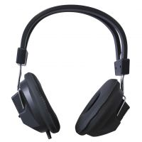 Black Educational Stereo Headphones