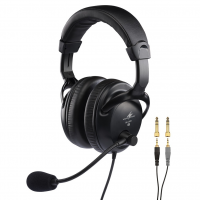 Monacor BH009 Professional Mono Headset with Dynamic Boom Microphone