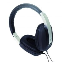 SoundLAB Stereo Hi Fi Headphones in Black Silver and Grey