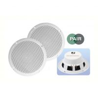 White 5 inch 4Ohm 80W Moisture Resistant Speakers