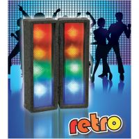 FXLab Retro LED Clip Together Disco Light Box