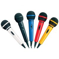 Mr Entertainer Microphone Kit with 5 Colours