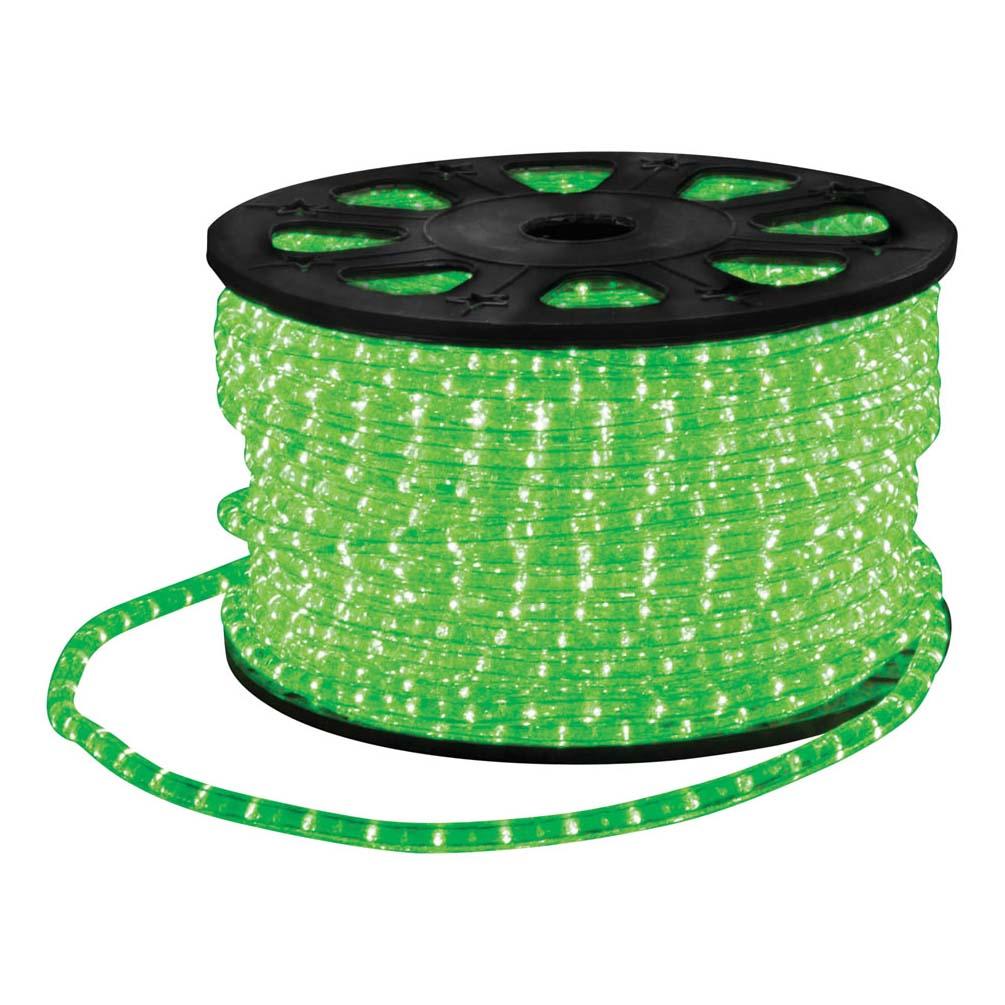static led rope light 45m green