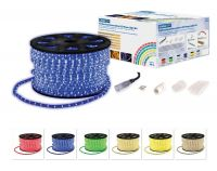Blue 90m Static LED Rope Light