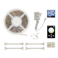 NJD Warm and Cool White LED Tape Light Kit 5M