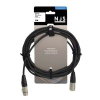 NJS Professional Microphone Lead XLR to XLR 1M