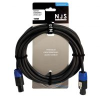NJS Pro Speaker Lead Speakon to Speakon 2.5mm Cable 10M