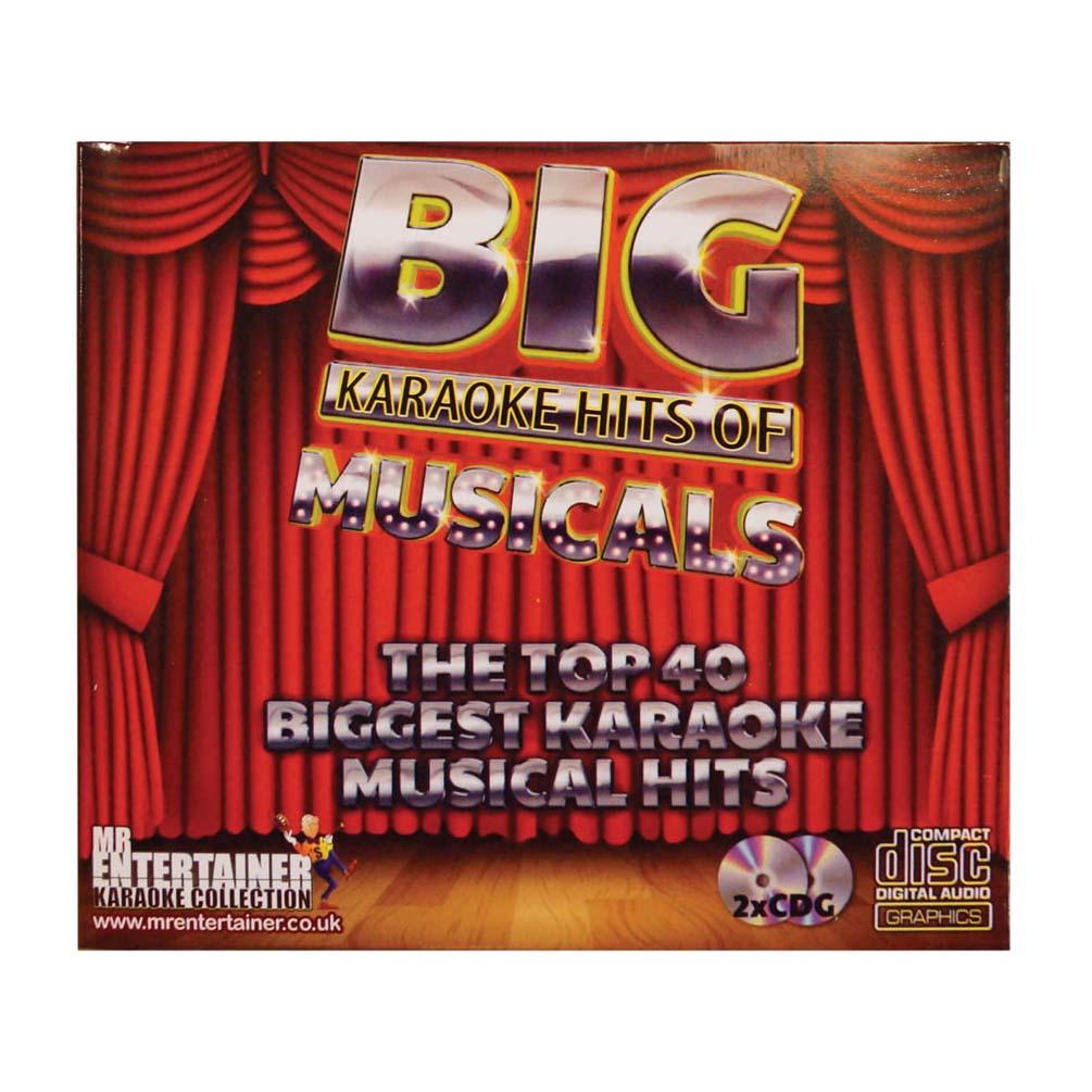 Mr Entertainer Karaoke CDG The Best of Musicals