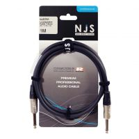 NJS Pro Speaker Lead Mono Jack to Jack 1.5mm Cable 1M