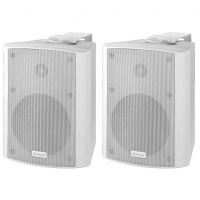 Monacor MKA 50SET/WS Active 40W. 2 Way Speakers