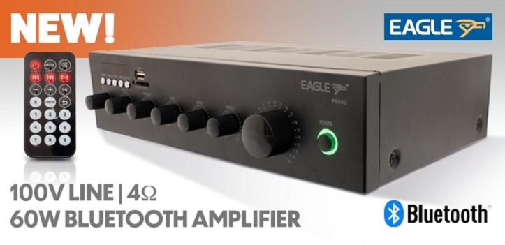 Eagle P650C 60W 100V Line Mixer Amplifier