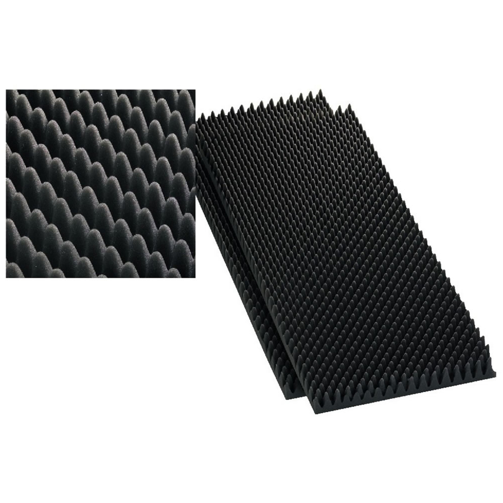 Monacor mdm 40 speaker damping foam 40mm x2 - Mousse acoustique leroy merlin ...