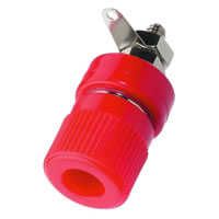 Monacor BP 360/RT Red Banana Plug Socket