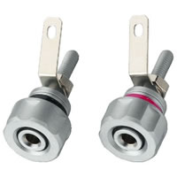 Monacor BP 410 Speaker Pole Terminals (Pair)