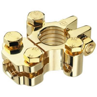 CarPower CPC 31G Gold plated Battery Clamp (Pos)