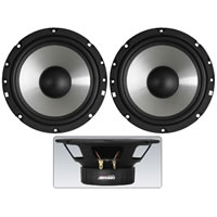 CarPower CRB 165PS Car Bass Midrange Speakers. 35W (Pair)