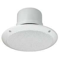 Monacor EDL 206 Waterproof Ceiling Speaker 100V Line (180mm)