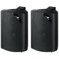 Monacor EUL 30/SW 100V Wall Speakers (Black)