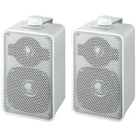 Monacor EUL 42/WS. 2 Way Speaker Cabinets 100V (White)