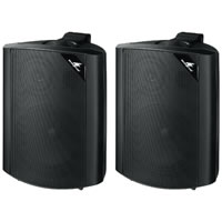 Monacor EUL 60/SW 100V ABS Wall Speakers (Black)