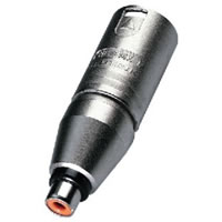 Neutrik NA 2MPMF Adapter XLR Socket to Phono Socket