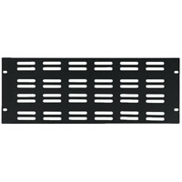 Monacor RCP 8724U Vented Rack Panel. 4U