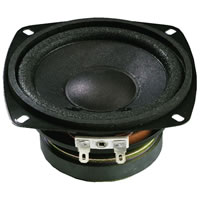 Monacor SP 10/4 Mini Loudspeaker 4Ohm 25W.max 105mm