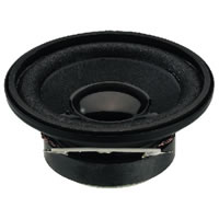 Monacor SP 5/4 Mini Loudspeaker 4W.max 4Ohm. 50mm