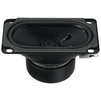 Monacor SP 59/4S Mini Loudspeaker 5W.max 4Ohm 90x50mm