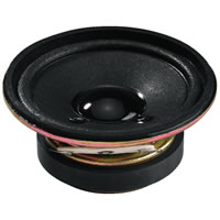 Monacor SP 6/4 Mini Loudspeaker. 5W.max 4Ohm. 57mm