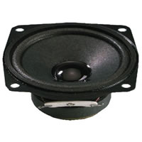 Monacor SP 7/4SQ Mini Loudspeaker 4Ohm 8W.max 66.5mm
