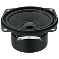 Monacor SP 7/4SQS Mini Loudspeaker 4Ohm 8W.max 66.5mm
