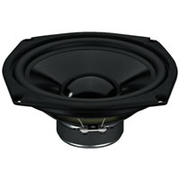 Monacor SPM 205/4 Bass Midrange 8 inch Speaker 150W.max 4Ohm