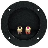 Monacor ST 960GM Round G/P Speaker Terminal 2 Pole
