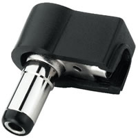 Monacor T 525AP Angled DC Power Plug. 2.5mm