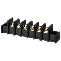 Monacor TBS 6/GO Gold plated Screw Terminal x6