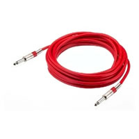 IMG StageLine MCC 300/RT Mono Jack to Jack Lead. Red 3m
