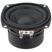 Monacor SP 10/4S Mini Loudspeaker 4Ohm 25W.max 105mm