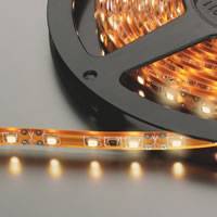 Monacor LEDS 5MP/WWS Warm/W 12V Flexible LED Strip. 5M