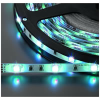 Monacor LEDS 5MPE/RGB Flexible LED Strip 12V DC. RGB 5m