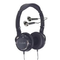 Deep Bass 2 in 1 Pack Stereo Headphones and Earphones