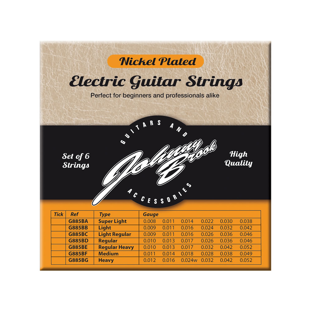 nickel plated electric guitar strings heavy gauge. Black Bedroom Furniture Sets. Home Design Ideas