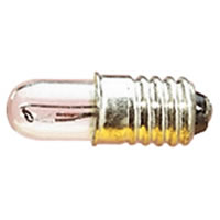 Clear 6V 50mA LES Screw Fitting Bulb