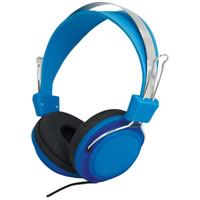 SoundLAB Fashion Colours Blue Stereo Headphones