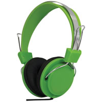 SoundLAB Fashion Colours Green Stereo Headphones